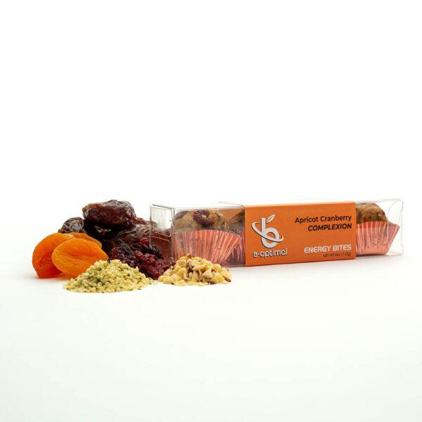 Energy Bites Apricot Cranberry - B-Optimal Health Energy Bites With Ingredients-7